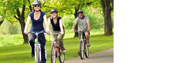 Photo of bicyclists